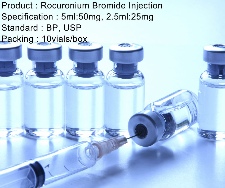 Muscle Relaxation Rocuronium Bromide Injection Adjunct General Anesthesia