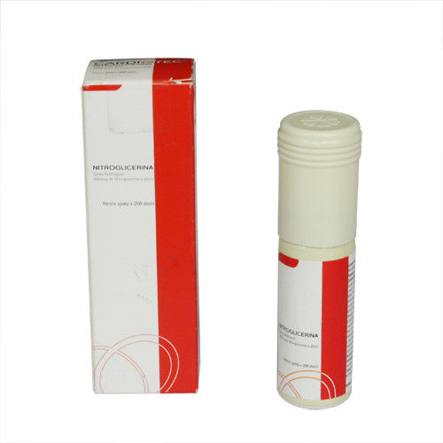 Pharmaceutical Aerosol Medication , Nitroglycerin Aerosol Spray For Heart Disease