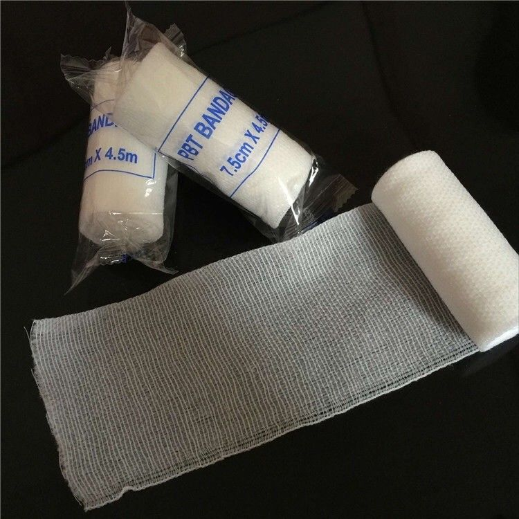PBT Disposable Medical Device Cohesive Elastic Adhesive Bandage For Surgical Nursing